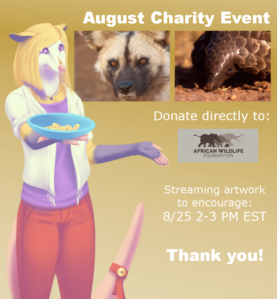 August Charity Event 2/25