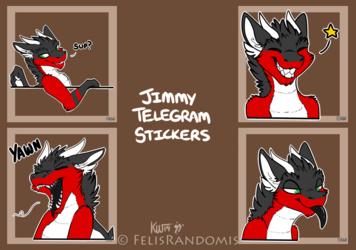 Jimmy Telegram Stickers