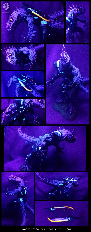 "Most recent image: Under the ""Black Light"" - King Alcadrios"