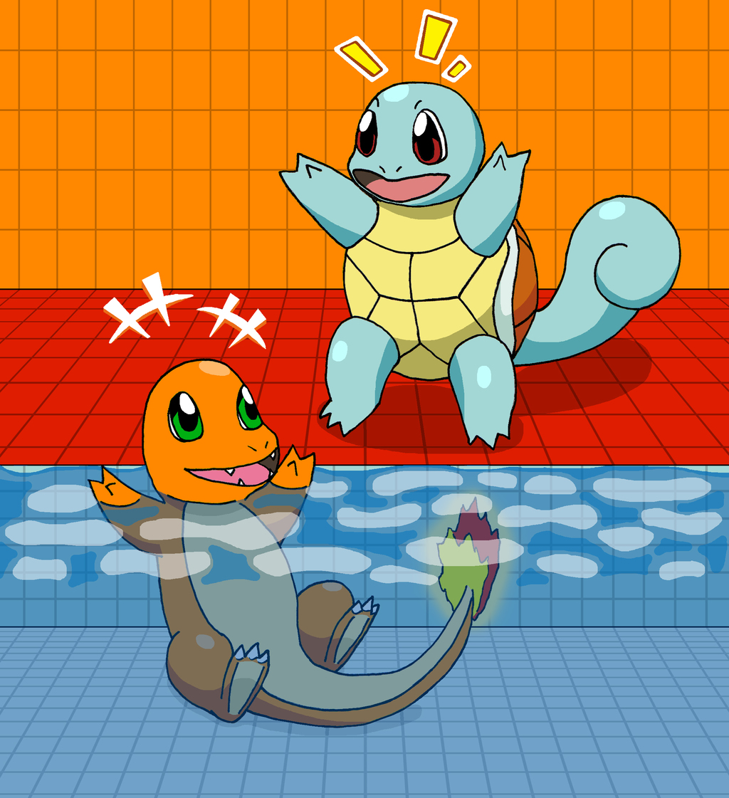 Can squirtle learn swim
