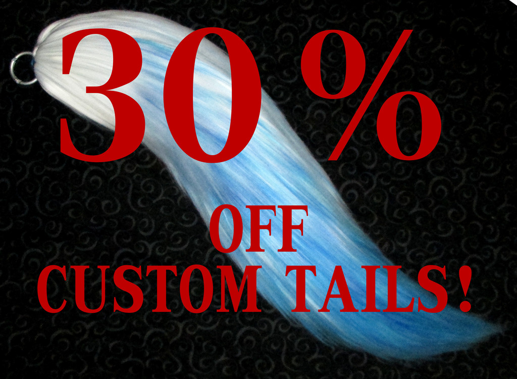 Most recent image: Custom Tails starting st $34.30!