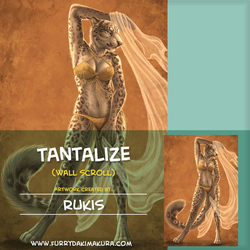Tantalize Wall Scroll by Rukis