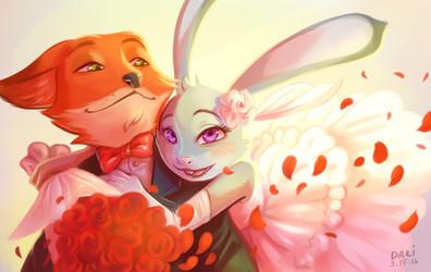 [Fanart] Zootopia: Mine Forever