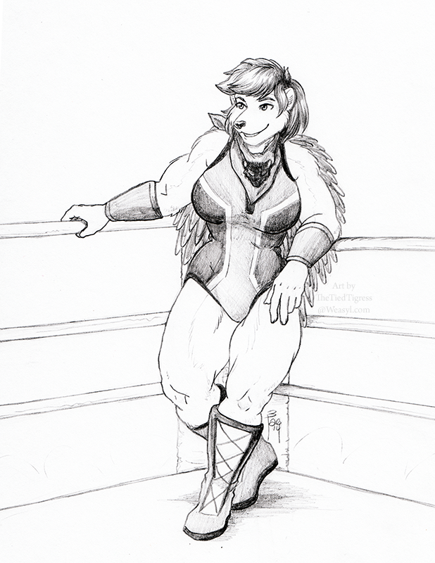 Featured image: Downtime in the Ring