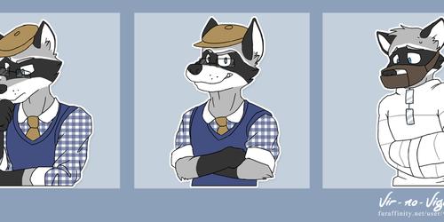 Commission: BusterLark Telegram Stickers