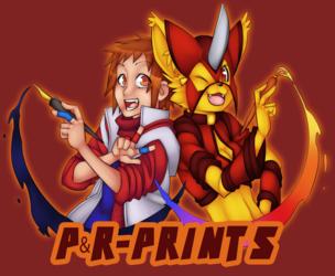 P&R-Prints Logo
