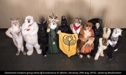 Clockwork Creatures Group Photo @ EF21