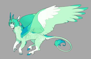 Unicorn Sphinx Creature (adopt) closed