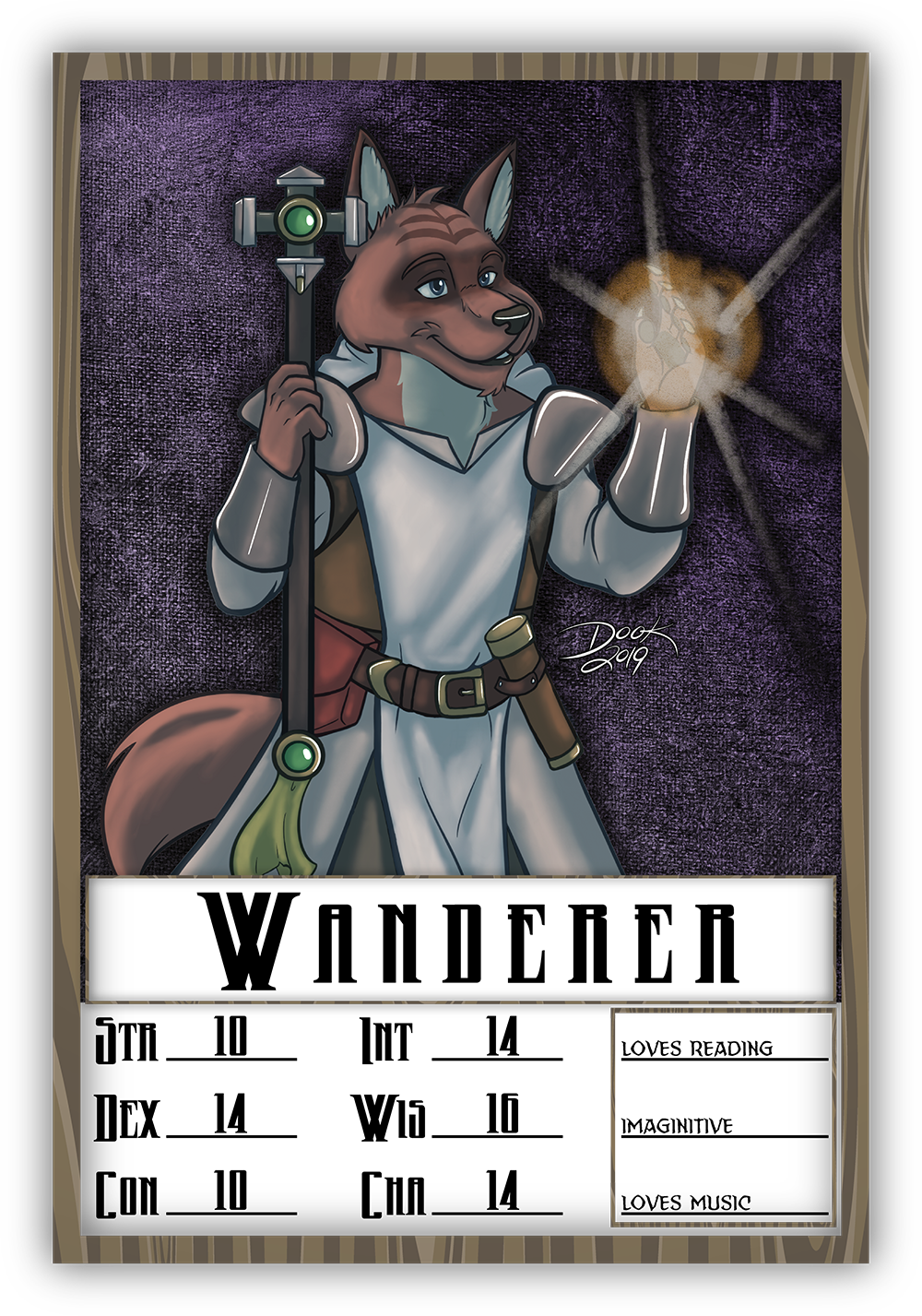TFF - Wanderer D&D Badge