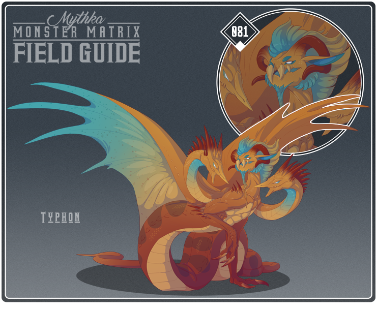 Most recent image: Monster Field Guide 081 - Typhon