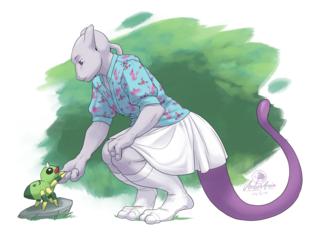Mewtwo's Friend