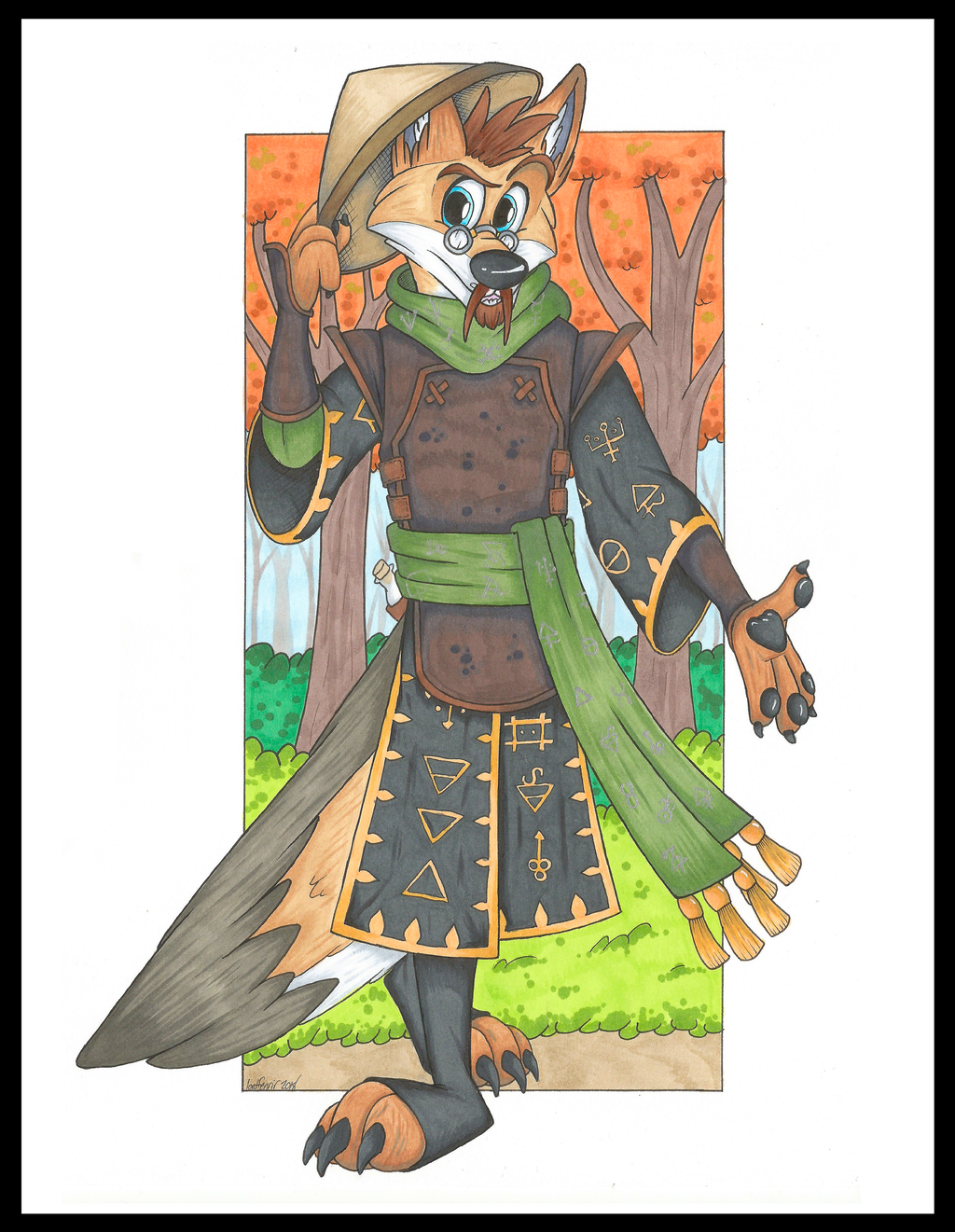 Most recent image: Samuel, Coyote Alchemist