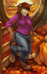 Autumn Afternoon (Clothed Version)