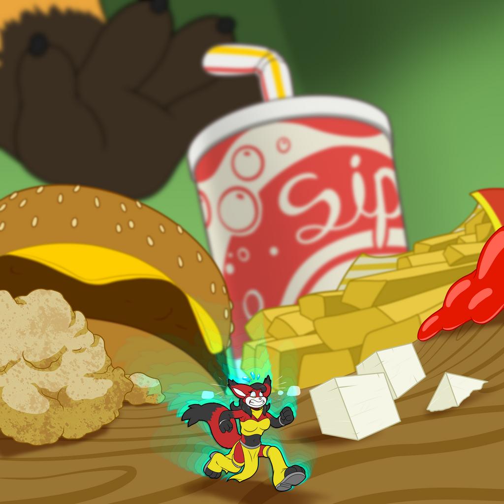 Katherine's Fast Food Run