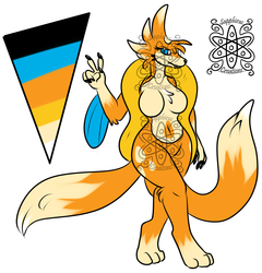 Female Floatzel +Design+ (SOLD)
