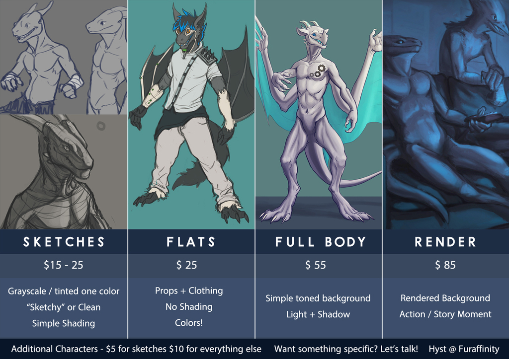 Open for Commissions!