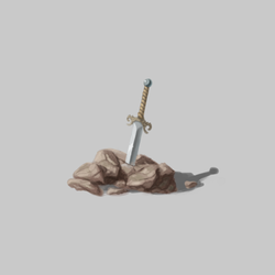 2019.02.15 - Some sword-in-a-rock for a generic hero