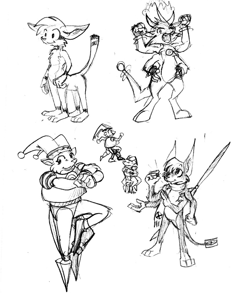 Most recent image: More Bitkin redesigns