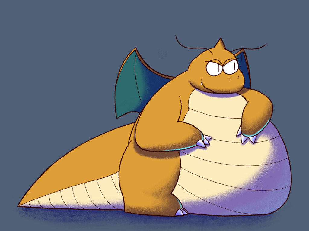 Dragon Delights: Dragonite