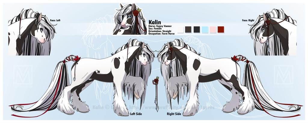 OC: Kalin - Feral Version