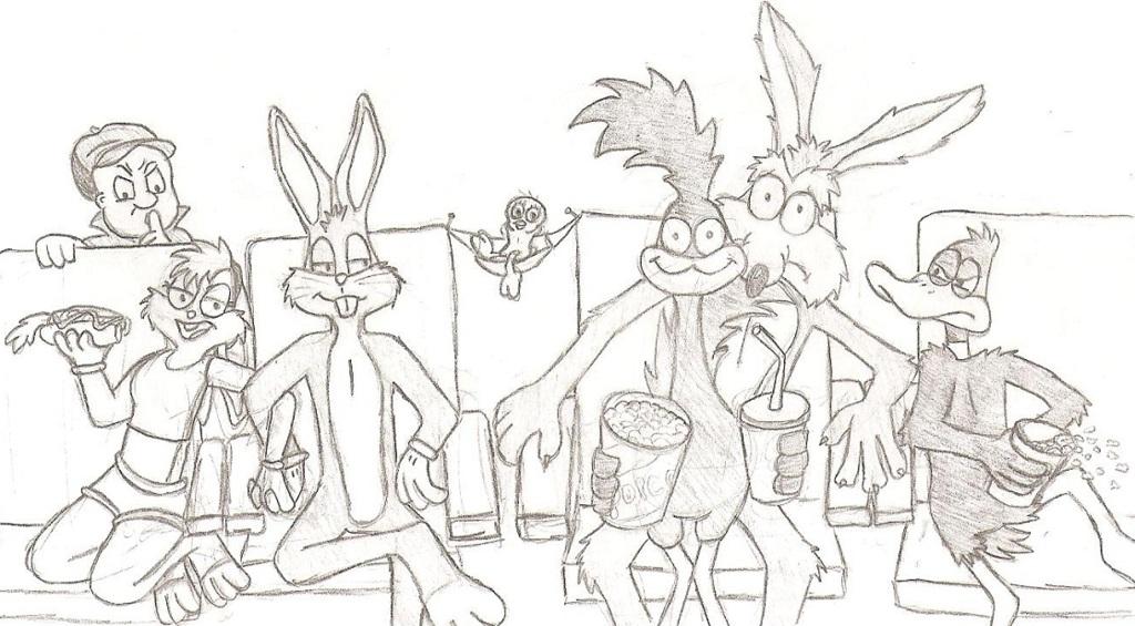 Looney Tunes at the Cinema