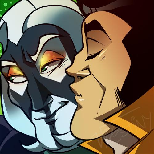 Icon Kiss (COMMISSION)
