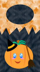 Halloween Pumpkin Lockscreen 2