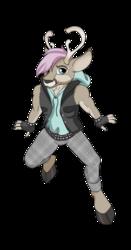 OC Request - soft punk deer
