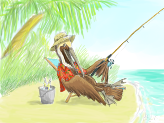 Larry the Pelican