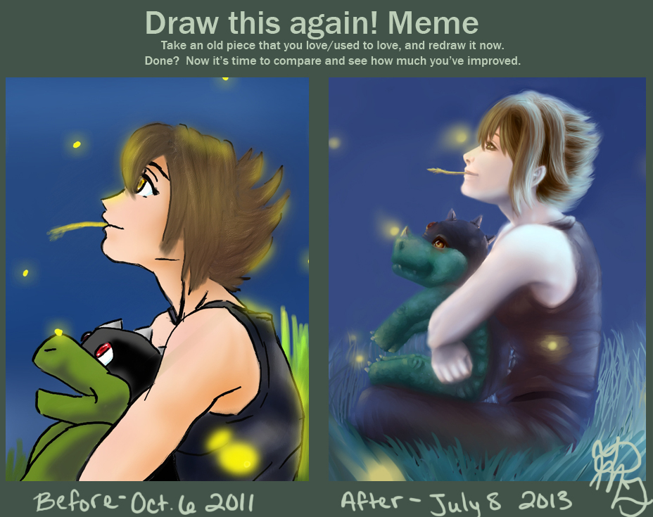 Draw This Again: Reika and Raigo