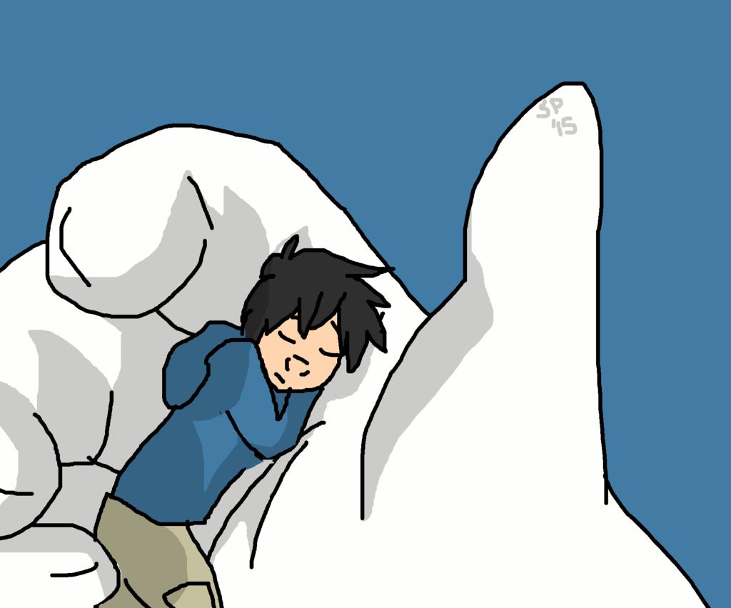 Sleeping Hiro