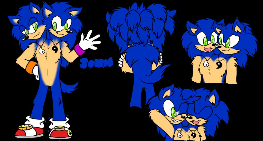 SiTM: Sonic the Hedgehog Ref Sheet