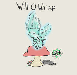 Inktober day 1- Will-O-Whisp