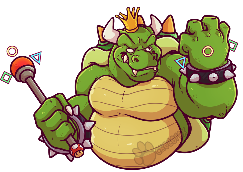 King Koopa Sticker