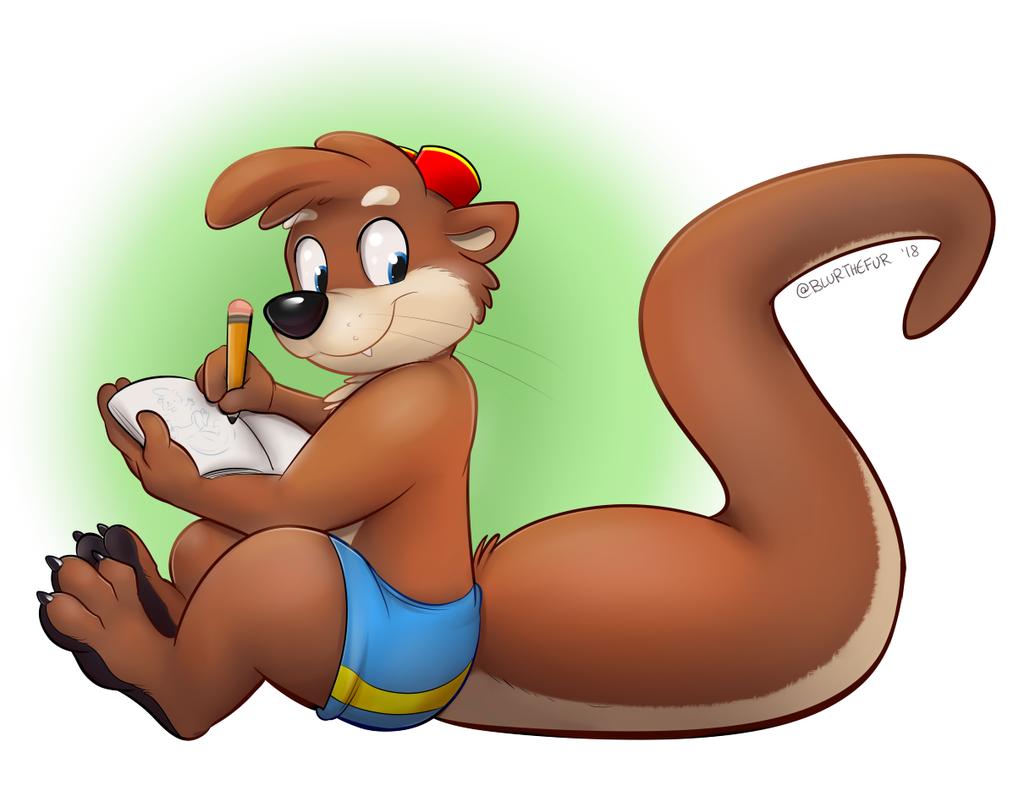 Otter Artist