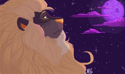 Starlit Sparkle Lion