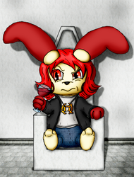 Taranis the Troubled Cultist Plusle (Commission)