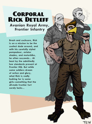 Avania Character Bio - Rick