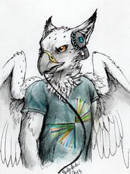 Sora - Anjunabeats Portrait by Millie Gryphon