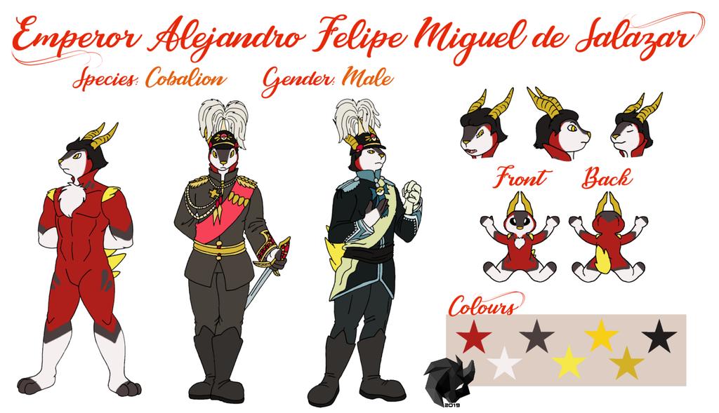 Emperor Alejandro Ref Sheet