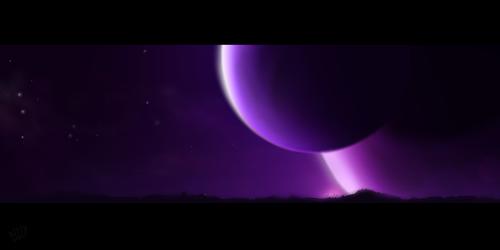 Terram Scene - Starry Night