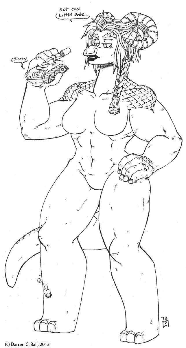 Monster Girl 30 Behemoth