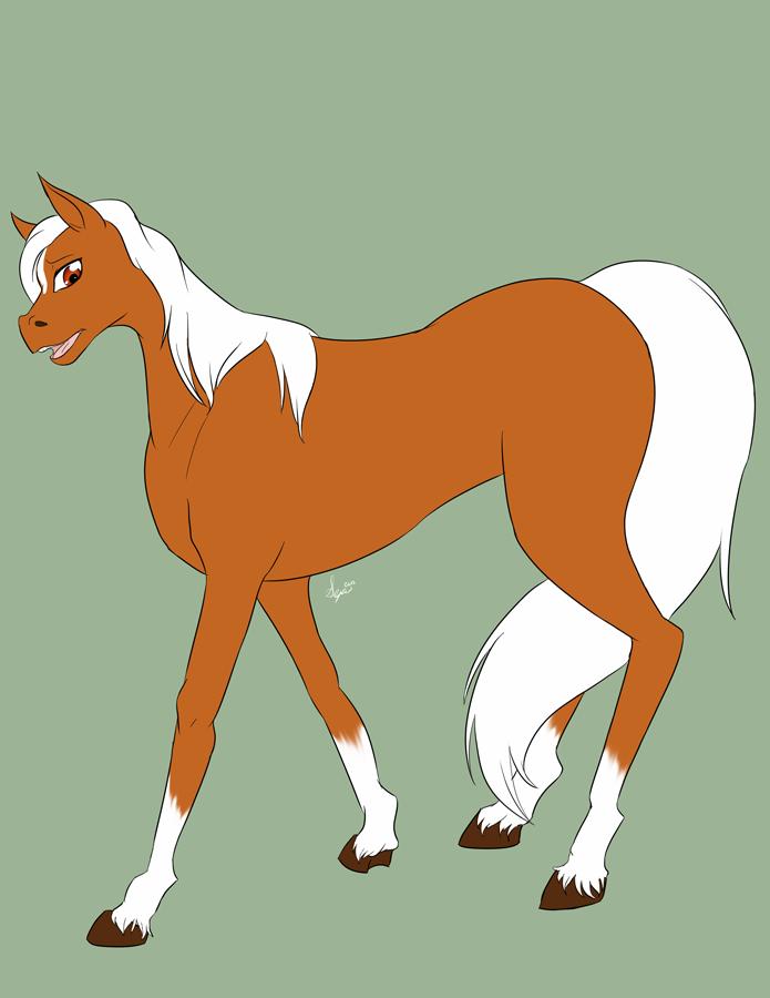 Commission: Horse Mask 04