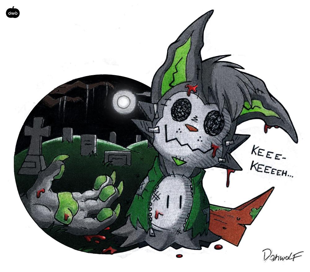 Don't peek under his costume