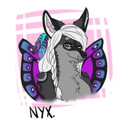 nyx doodle