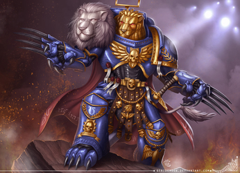 The lions of Macragge Commission