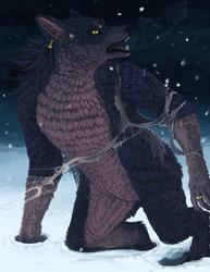 [PatreonPainting]-Winter Werewolf