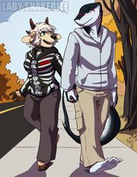 Commission: Autumn Stroll