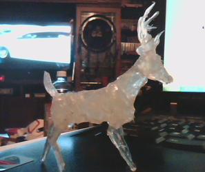 Hot glue deer!!!