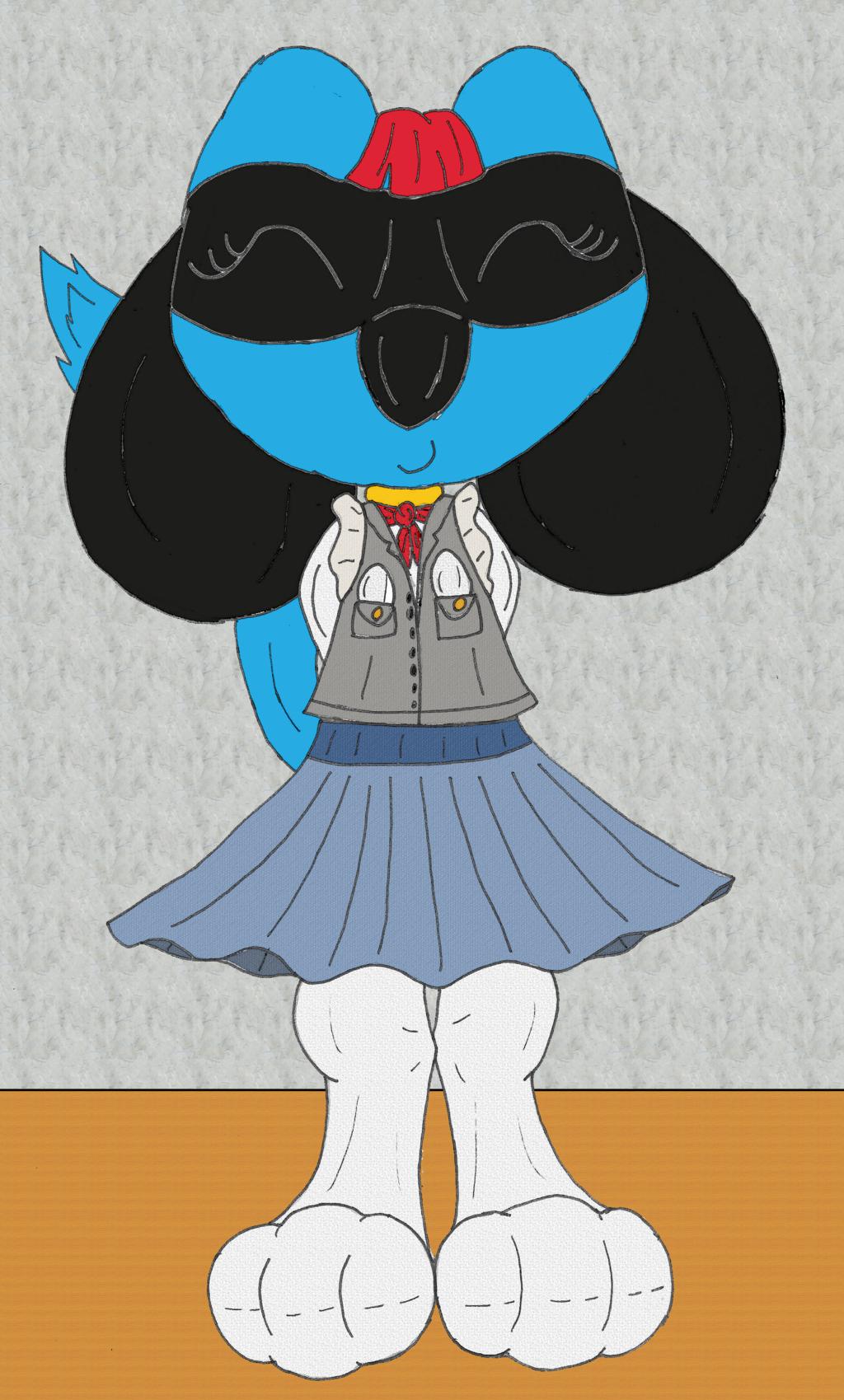 School Girl Amelia